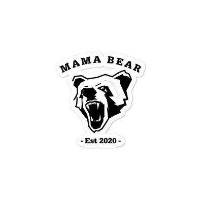 Mama Bear Bubble-free stickers - Darilambu