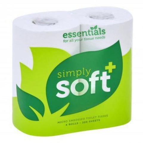 Contract Toilet Roll 2ply White