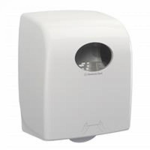 Aquarius Rolled Hand Towel Dispenser - White