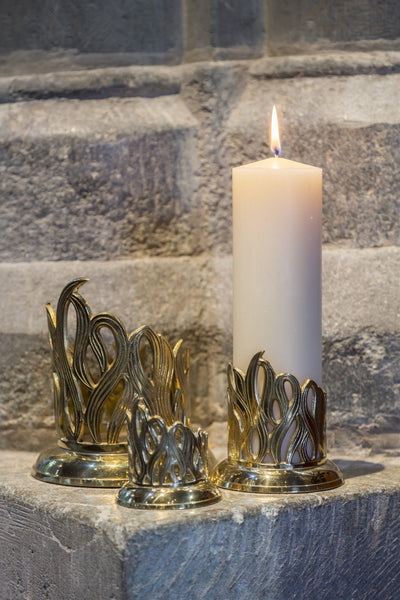 Flame Candle Holder