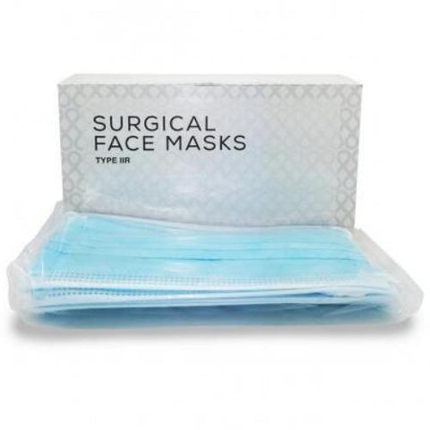Surgical 3 Ply Disposable Face Mask - Pack 50