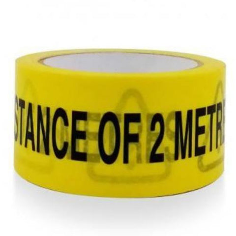 Heavy Duty Safe Distance Floor Tape