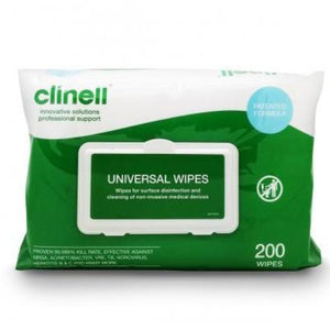 Clinell Jumbo Universal Surface/Hand Wipes