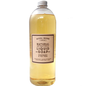 1 litre Refill Natural Antibacterial Liquid Soap