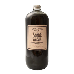 Black Liquid Marseille Soap - For Household Cleaning