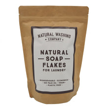 Load image into Gallery viewer, Natural Soap Flakes (500g) in a compostable bag