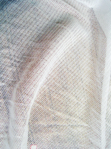 100% Nature White Silk Tulle Fabric Use Wedding silk veil 100% SILK FABRIC 150CM width