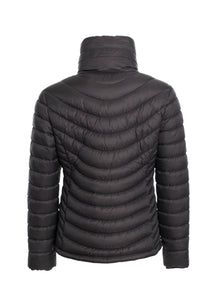 The Revolution Lifestyle Women's Lite Puffer Jacket with High Collar