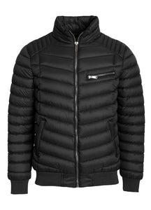 The Revolution Lifestyle Men's Lite Puffer Jacket w/ High Collar