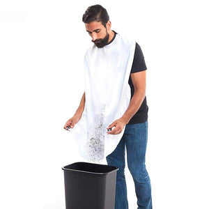 Beard Shaving/Hair Apron Catcher