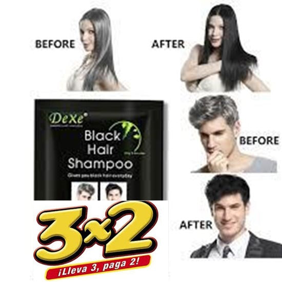 SHAMPOO DEXE BLACK HAIR