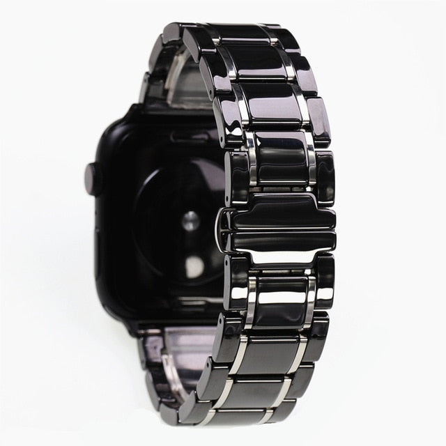 Ceramic and Stainless Steel Luxury Strap