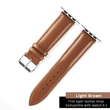 Load image into Gallery viewer, Brown Leather Loop Best Strap