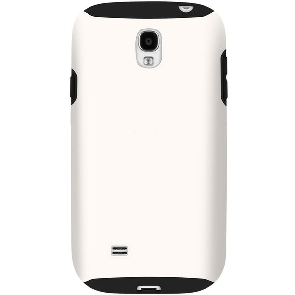 Hybrid Case For Samsung Galaxy S4 - Black/White
