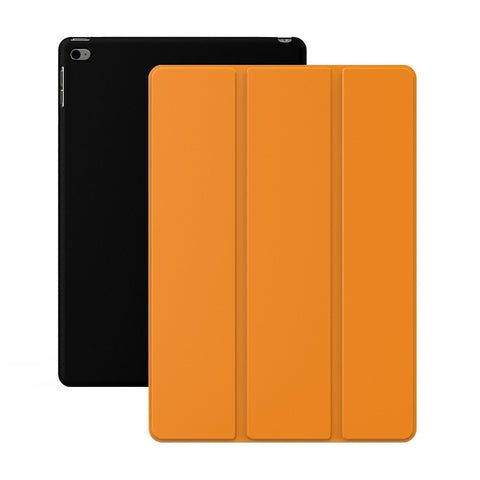 Dual Case For iPad Air 2 - Orange/Black.