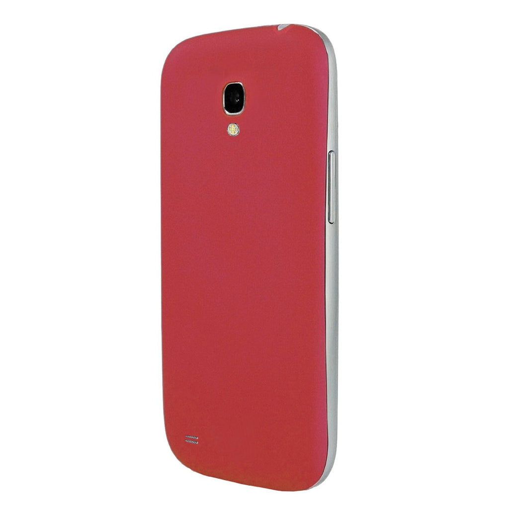 Burgundy Red Rubberized Texture Back Cover for Samsung Galaxy S4