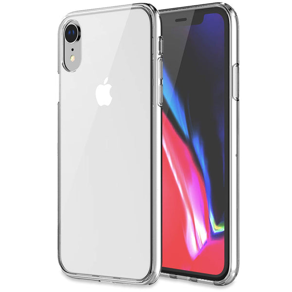 KHOMO - iPhone XR 6.1 Inch 2018 - [ Hybrid ] Bumper Case with Clear - Scratch Resistant Back