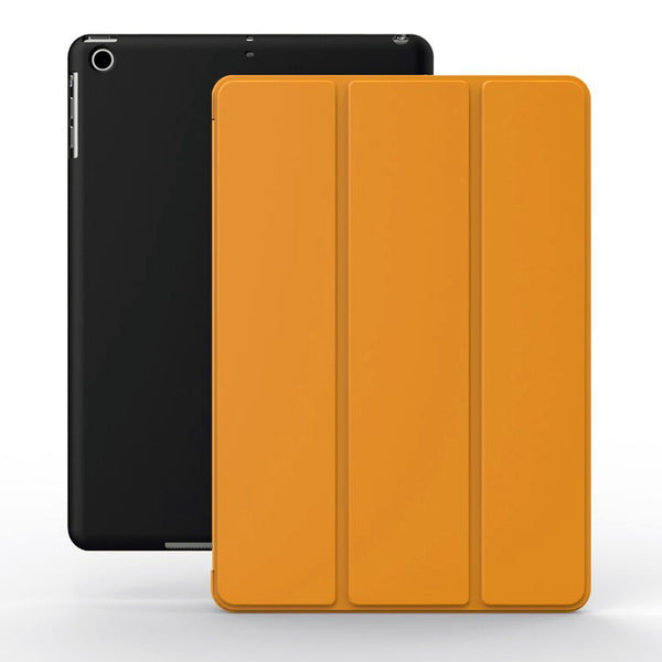 Dual Case For iPad Mini / Retina / Mini 3 - Orange/Black
