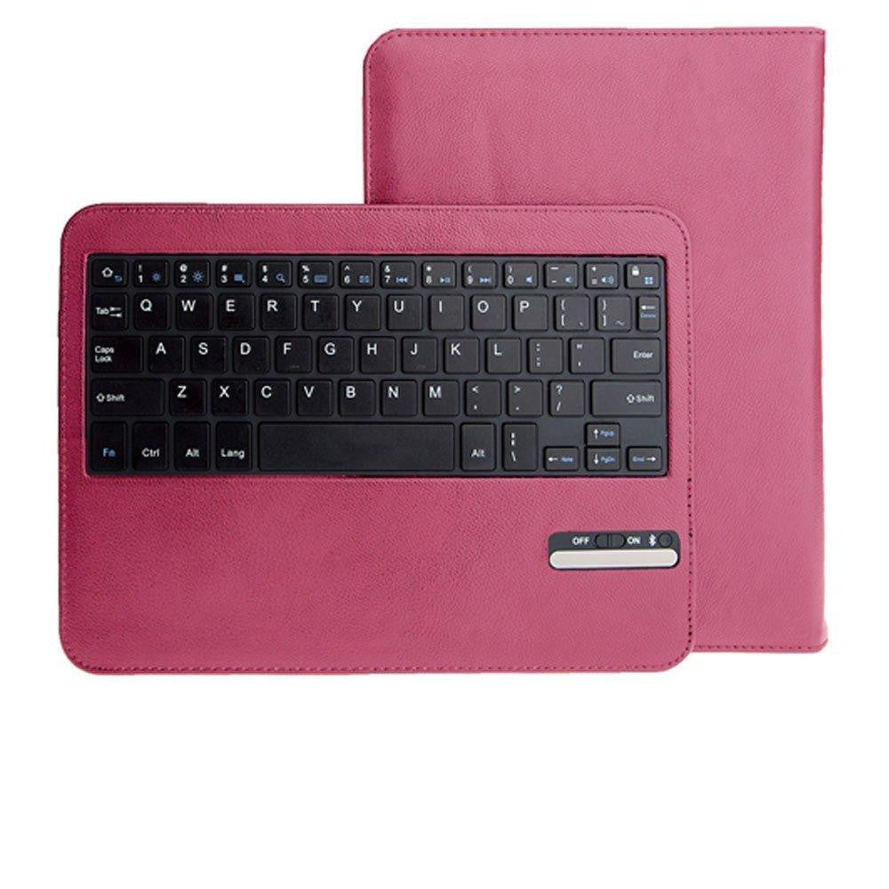 Leather Keyboard Case For Galaxy Tab 3 10.1 - Pink