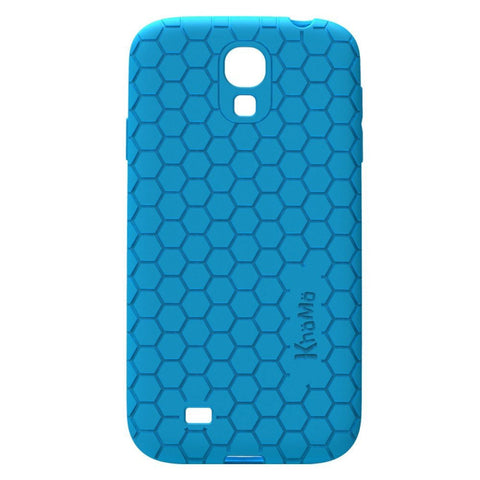 Honeycomb Case For Samsung Galaxy S4 - Blue