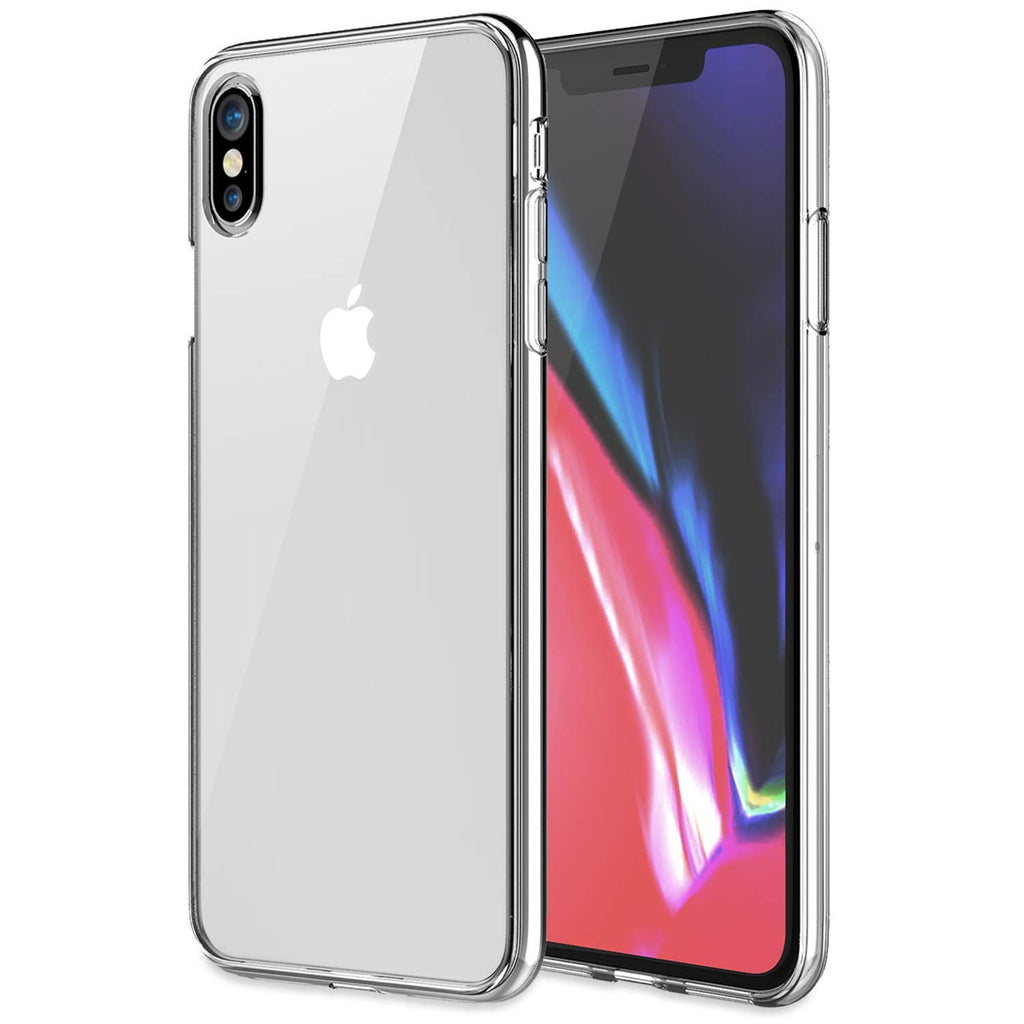 KHOMO - iPhone Xs MAX 6.5 Inch 2018 - [ Hybrid ] Bumper Case with Clear - Scratch Resistant Back