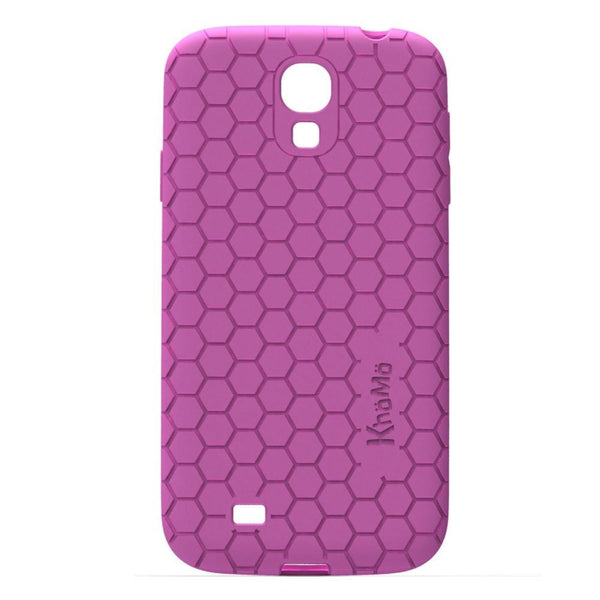 HoneyComb Case For Samsung Galaxy S4 - Pink