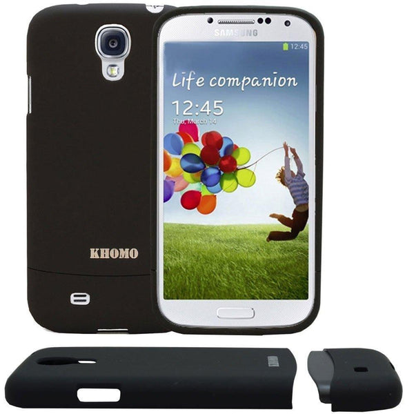 Slider Case Cover For Samsung Galaxy S4 - Black