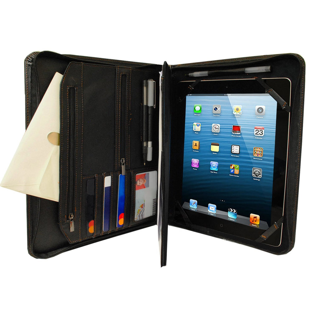 PadFolio Case Black Executive Notepad Holder Universal 8.5