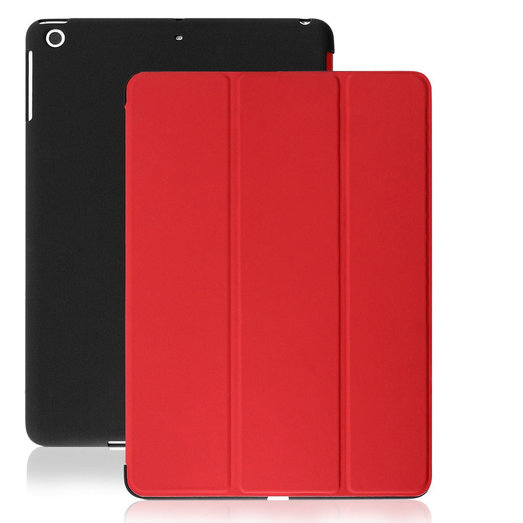 Dual Case For iPad Mini / Retina / Mini 3 - Red/Black