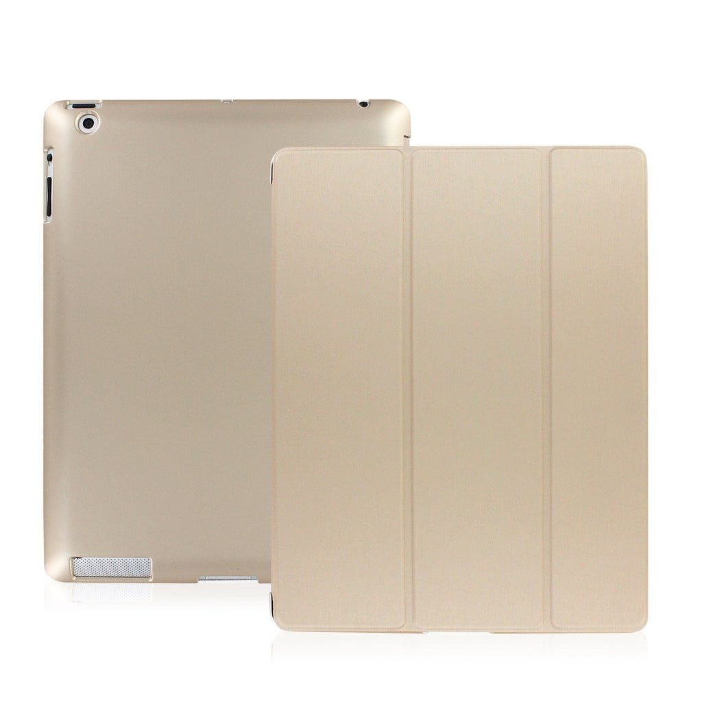 Dual Protective Case For iPad 2nd 3rd & 4th Generation - Gold
