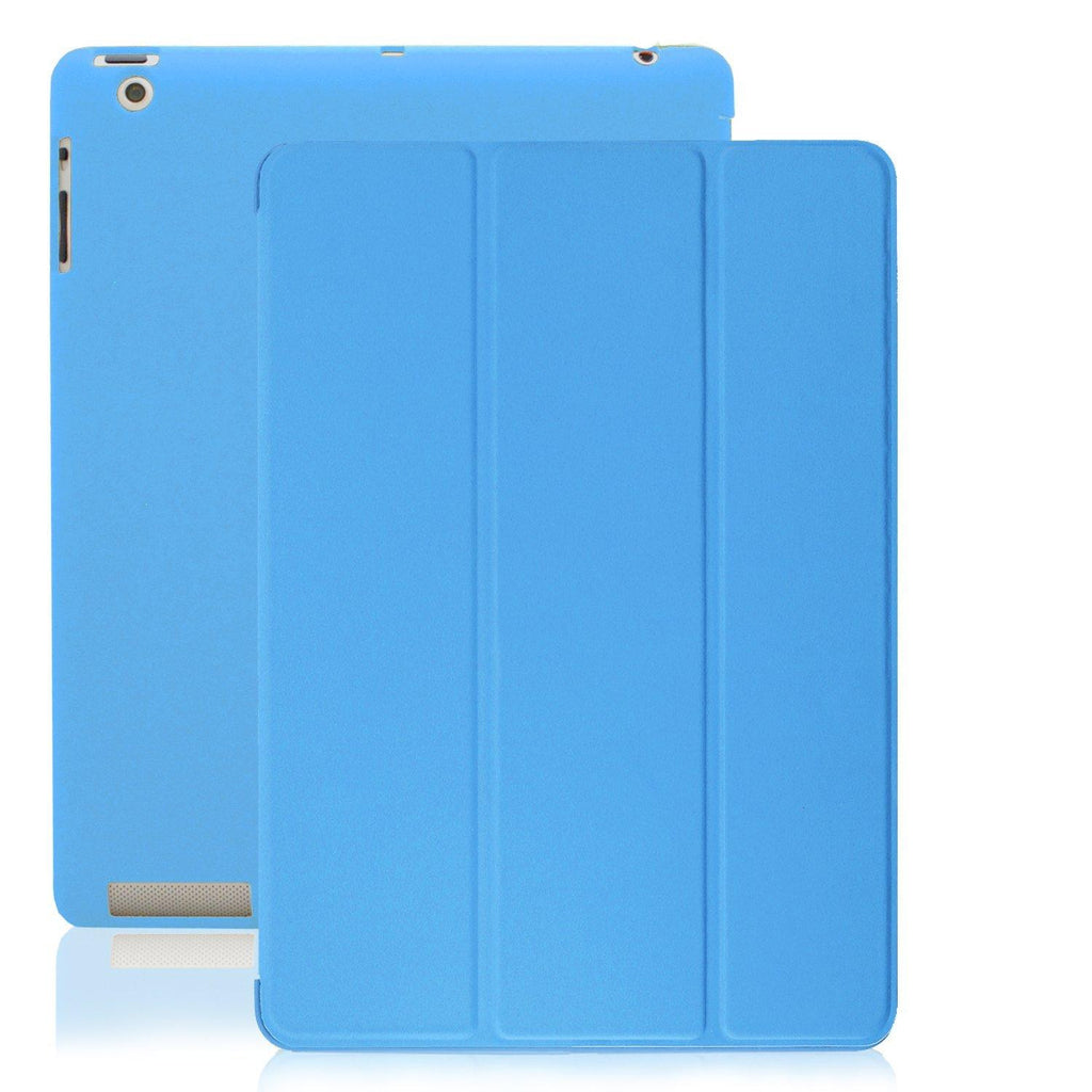 Dual Protective Case For iPad 2nd 3rd & 4th Generation - Blue