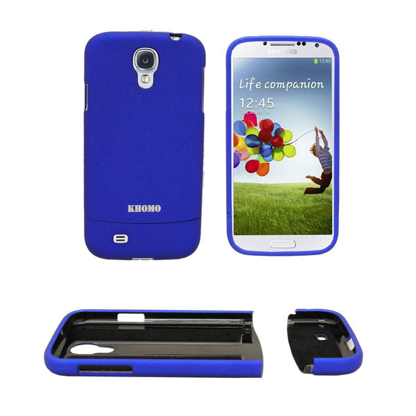 Slider Case Cover For Samsung Galaxy S4 - Blue