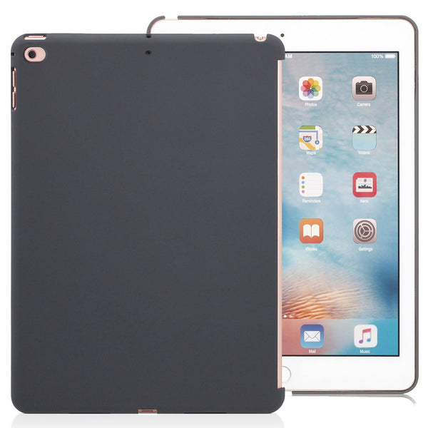 Companion Case Cover Super Slim Rubberized Back For Apple iPad 9.7 (2017) - Charcoal Grey