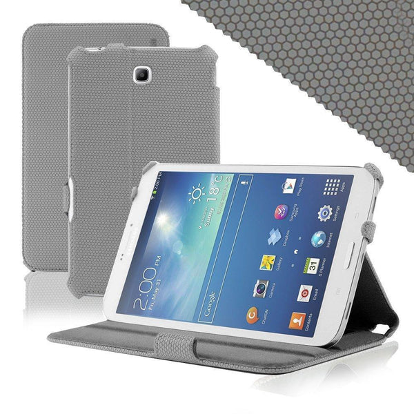 Grid Hand Strap for Samsung Galaxy Tab 3 8.0 - Grey