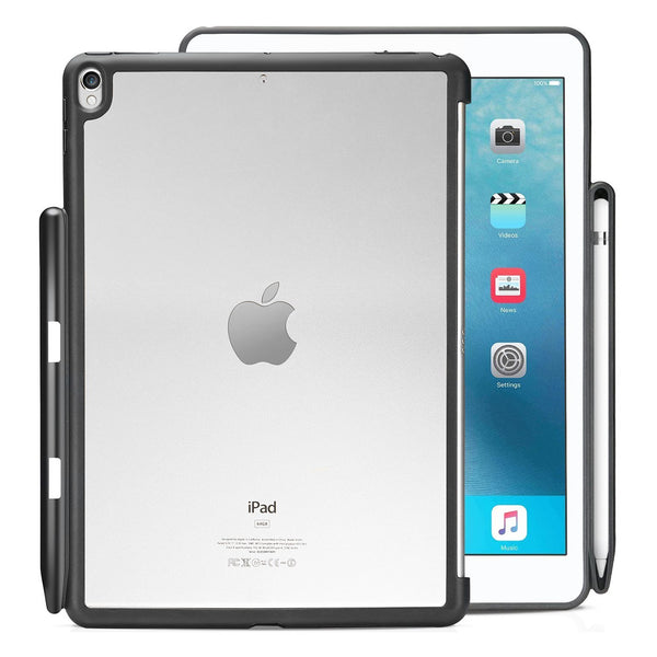 Companion Cover Case For Apple iPad Pro 10.5 Inch With Pen Holder - Clear