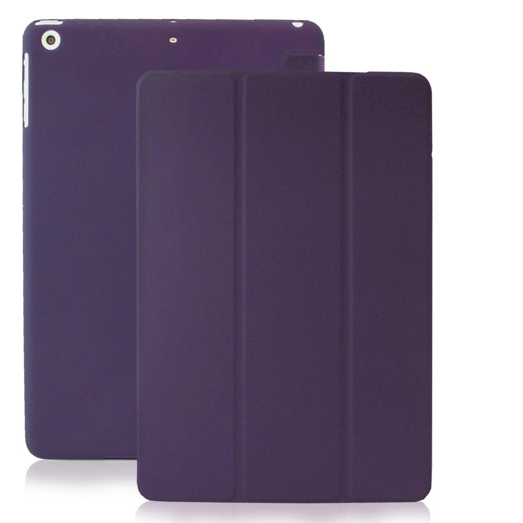 Dual Case For iPad Mini / Mini Retina - Purple Transparent