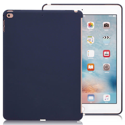 Companion Case Cover Super Slim Rubberized Back For Apple iPad 9.7 (2017 & 2018) - Midnight Blue