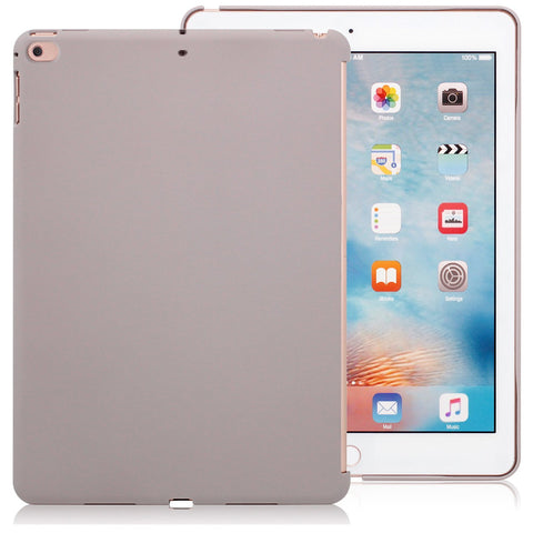 Companion Case Cover Super Slim Rubberized Back For Apple iPad 9.7 (2017 & 2018) - Stone