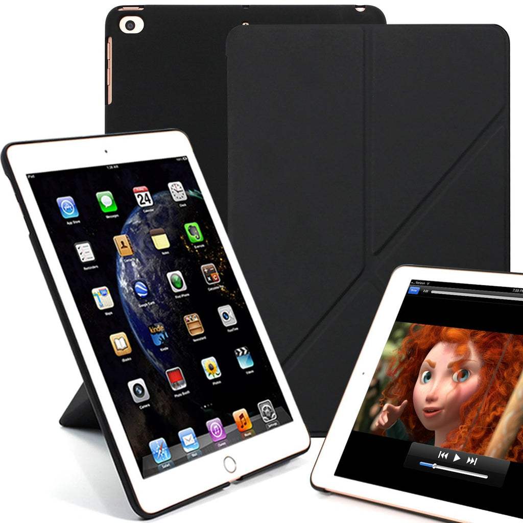 Dual Origami Case Cover For Ipad 97 2017 2018 Ultra Slim