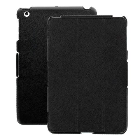 Executive Leather Case Cover Lockup For Apple iPad Air 2 - Black