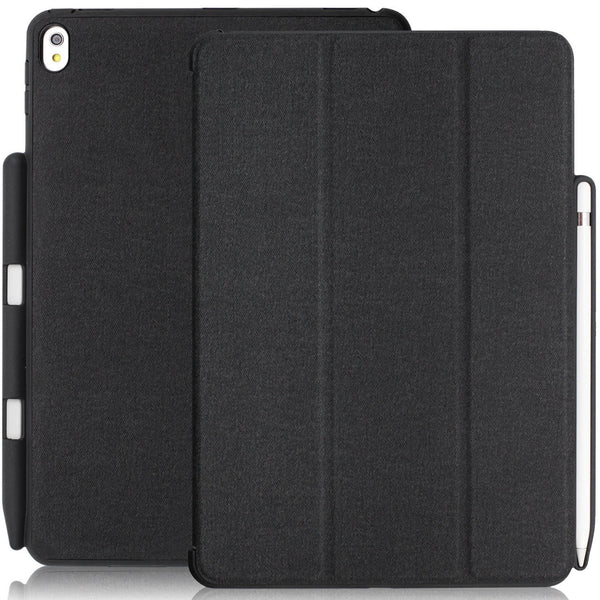 Dual Case Cover With Pen Holder For Apple iPad Pro 10.5 Inch - Charcoal Grey