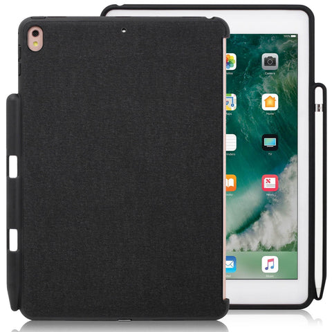 Companion Cover Case For Apple iPad Pro 10.5 Inch With Pen Holder Charcoal Gray