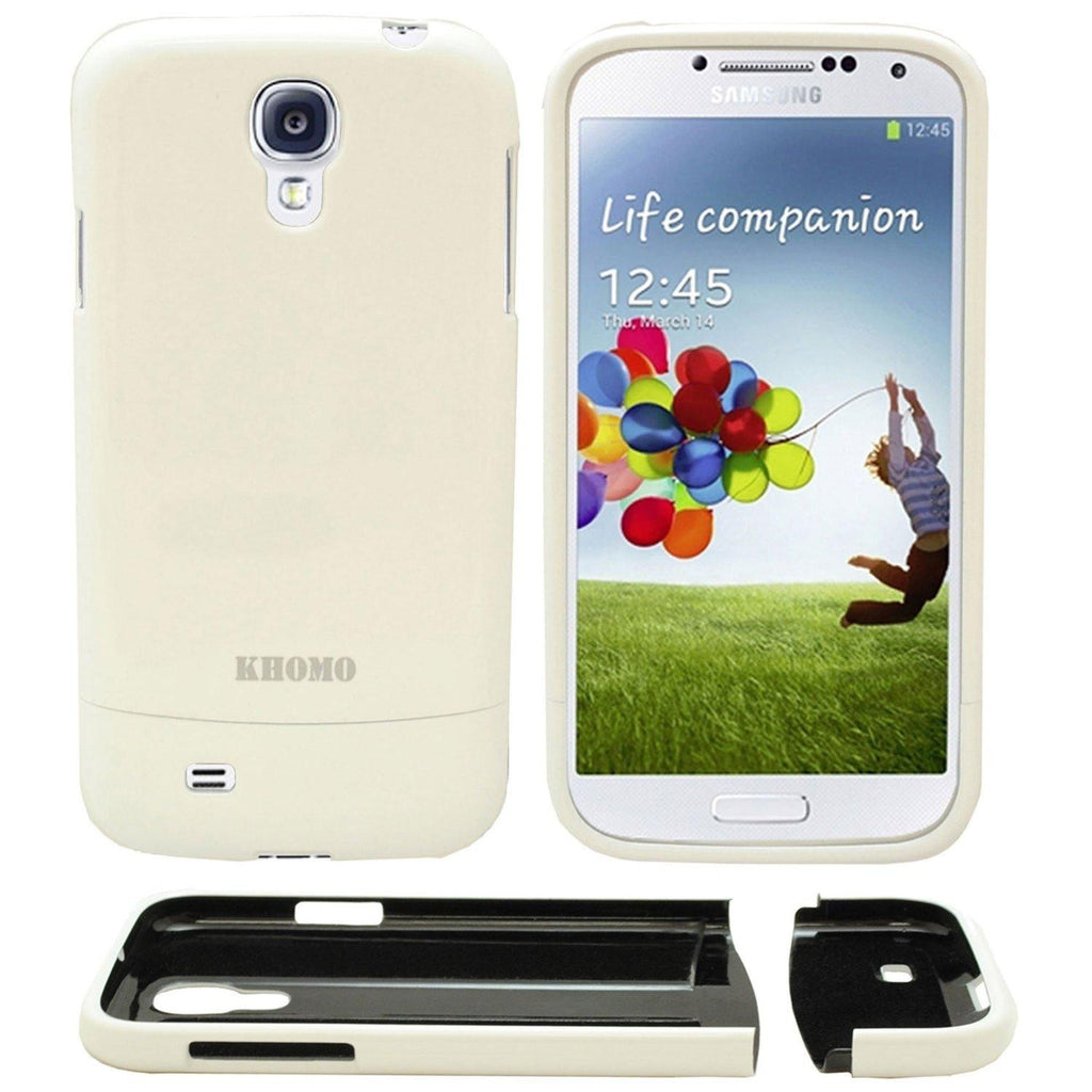 Slider Case Cover for Samsung Galaxy S4 - White