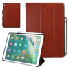 Dual Case Cover With Pen Holder For Apple iPad Pro 12.9 - Leather Brown