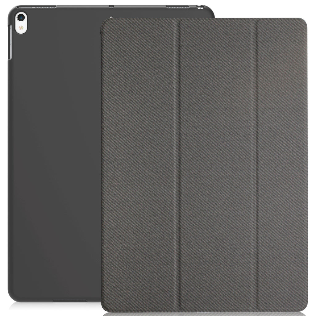 Dual Case Cover For Apple iPad Pro 10.5 Super Slim With Smart Feature - Twill Grey