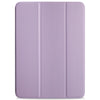 Dual Case Cover For Apple iPad Pro 11 Inch Super Slim With Rubberized Back & Smart Feature - Lavender Purple