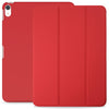 Dual Case Cover For Apple iPad Pro 12.9 Inch 3rd Generation  Super Slim With Rubberized Back & Smart Feature - Red