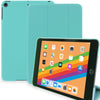 Dual Case For Apple iPad Mini 5 Super Slim Rubberized Back & Smart Feature - Mint Green