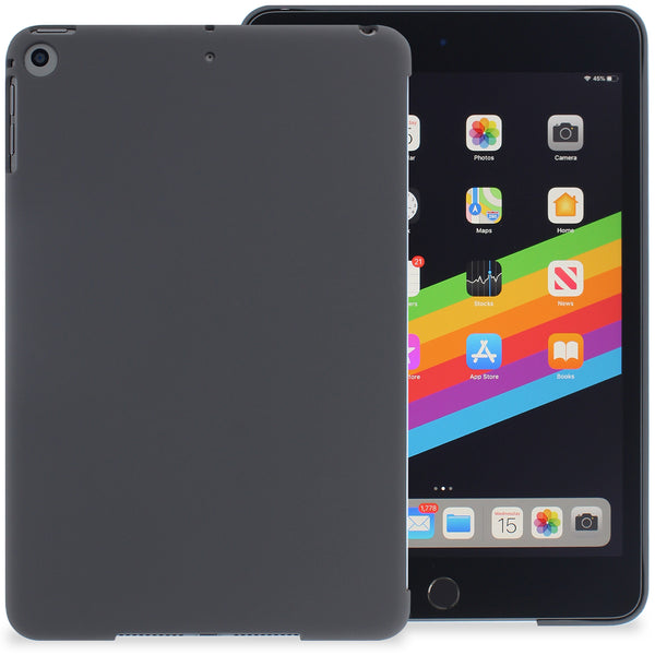 Companion Case Cover For Apple iPad Mini 5 - Charcoal Black