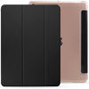 iPad 10.2 2019 ( 7th Generation ) Case See Through Transparent Dual Cover - Clear Black
